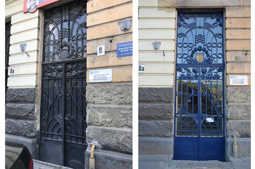 restavratory vidnovyl yistorychnu bramu na vulytsi shota rustaveli 04 - Реставратори відновили історичну браму на вулиці Шота Руставелі