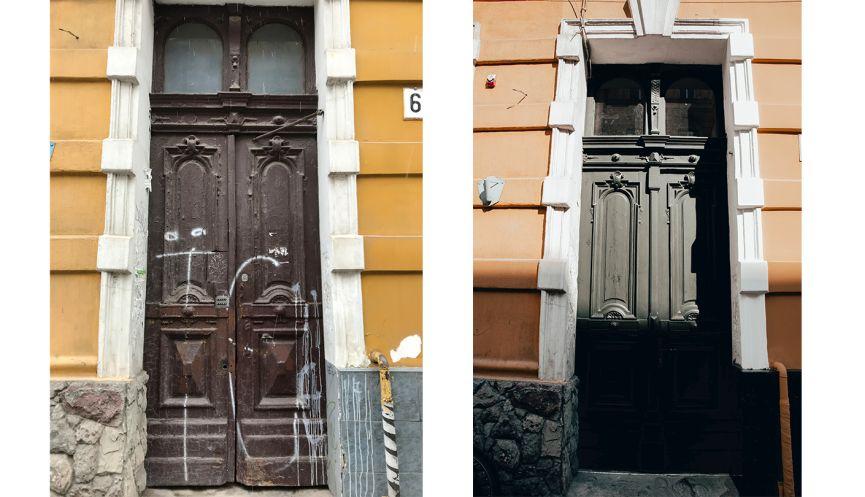 restavratory vidnovyly istorychnu bramu na pochatku vulytsi kulisha 01 - Реставратори відновили історичну браму на початку вулиці Куліша